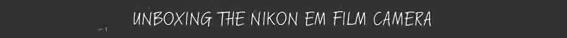 Cámara Nikon EM