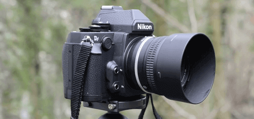 Nikon review cámara DF
