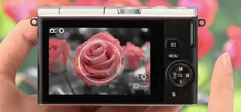 Pantalla abatible Nikon cámara modelos 1 j4