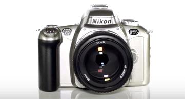 f55 cámara Nikon de calidad