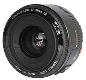 Objetivo Yongnuo 35mm