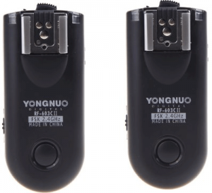 Yongnuo flash 603 rf