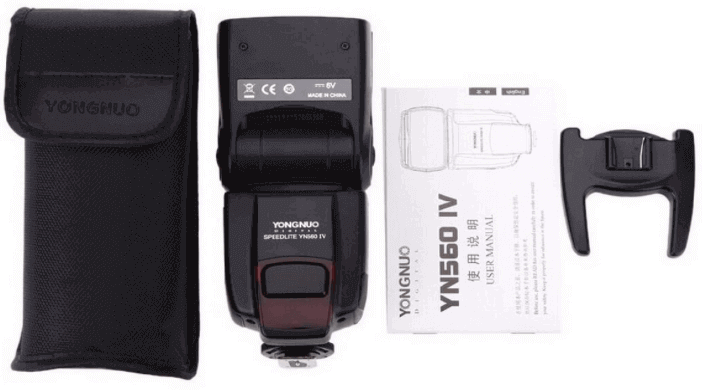 Pack oferta flash yn560 Yongnuo