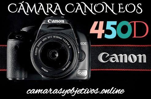 Cámara 450d Canon