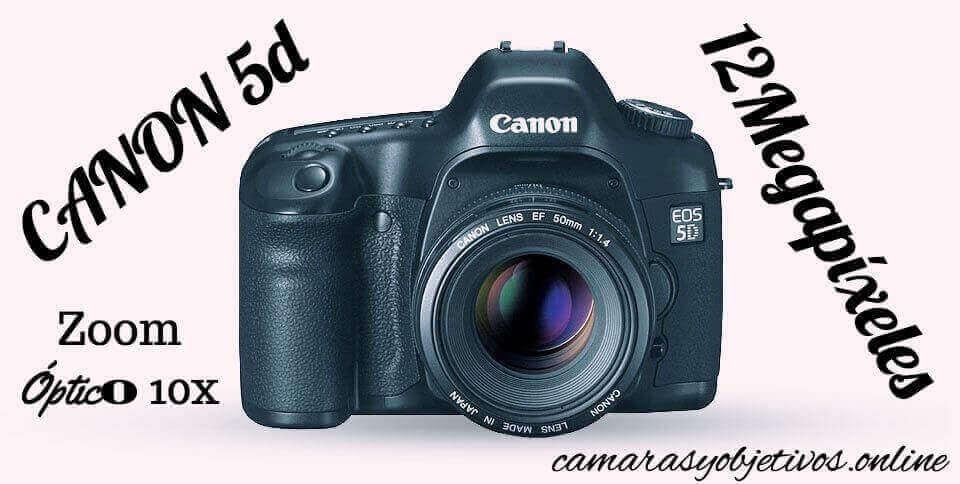 Canon cámara 5d