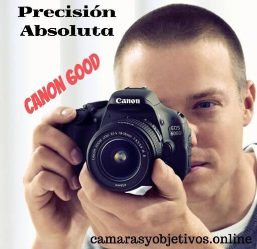 Información sobre la cámara 600d de Canon