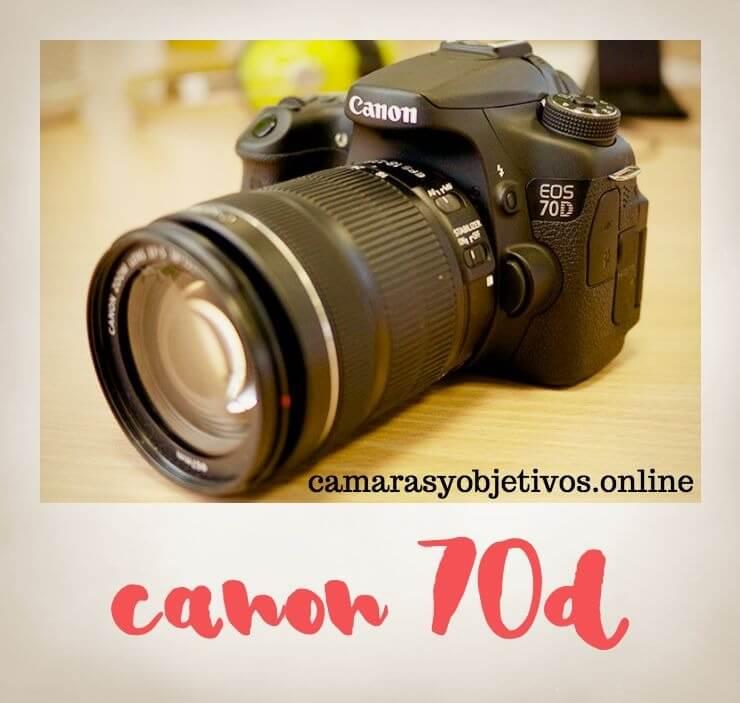 Camara 70d para Canon
