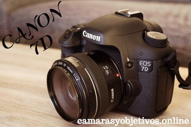 Canon cámara 7d