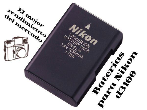 Nikon batería d3100