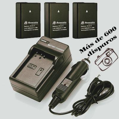 Nikon d3200 baterias