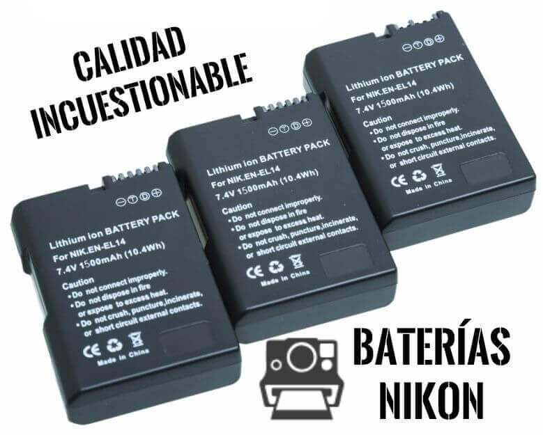 Baterías Nikon