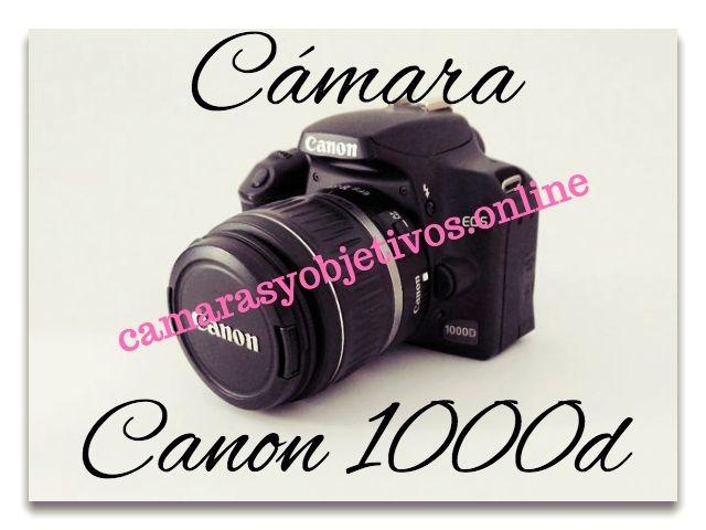 Canon cámara réflex 1000d