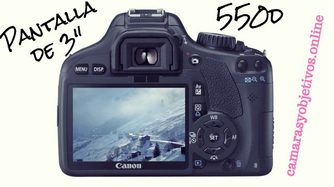 550d cámara Canon