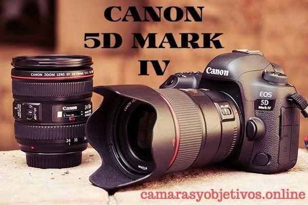 Modelo 5d Mark IV de Canon