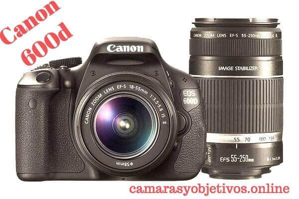 Canon cámara 600d
