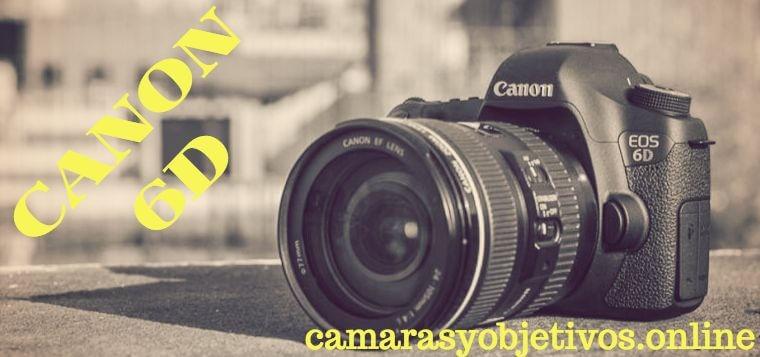 Cámara Canon Eos 6d