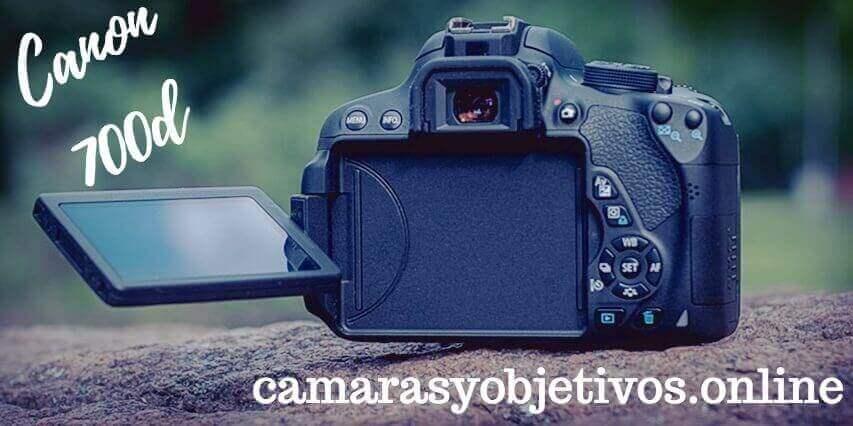Canon cámara 700d