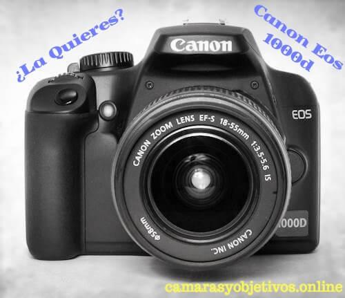Cámara réflex EOS Canon