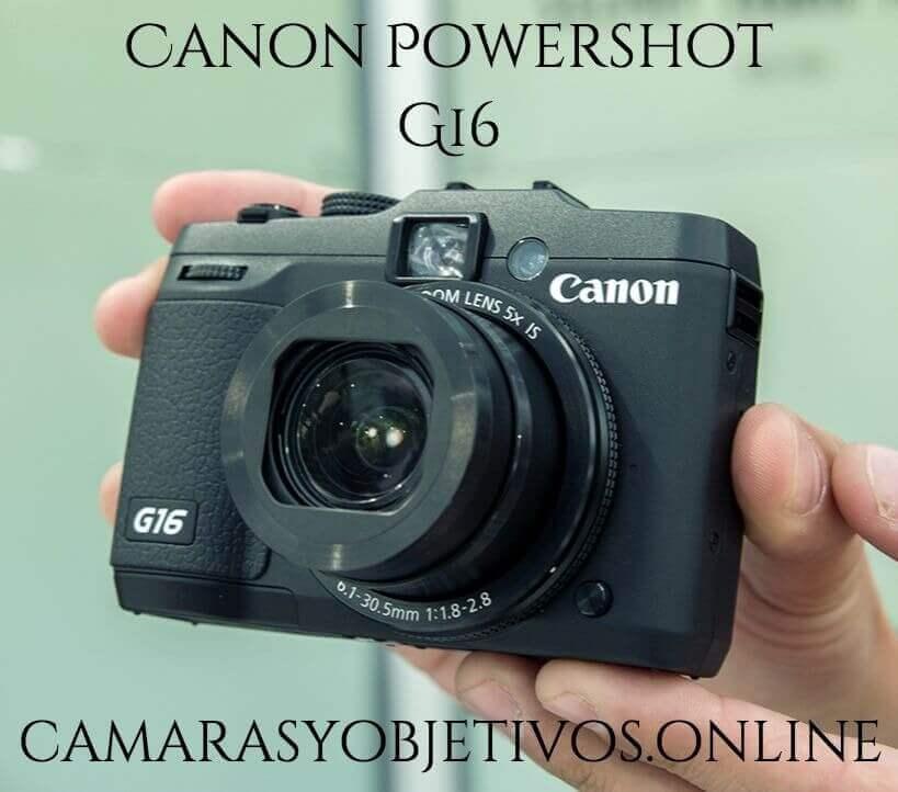 G16 cámara Canon