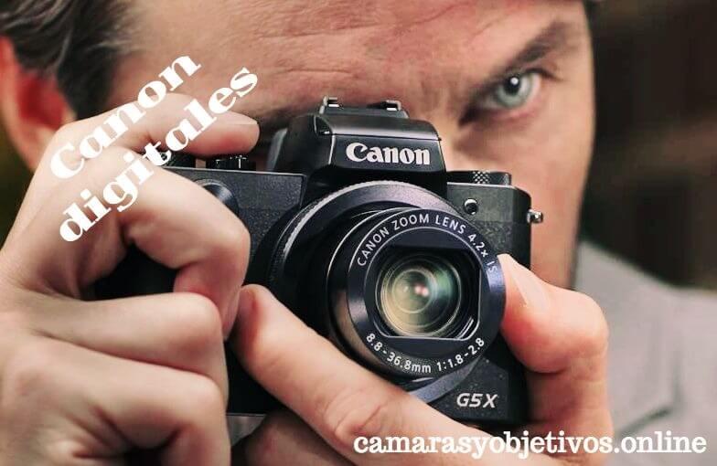 Digital cámaras de Canon