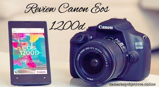 1200d Canon cámara