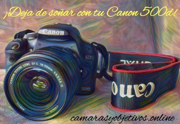 Información Canon Eos 500d