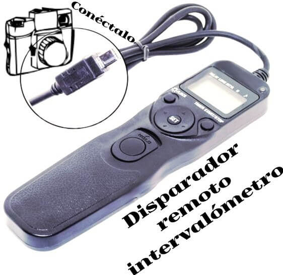 disparador remoto para tu cámara Nikon