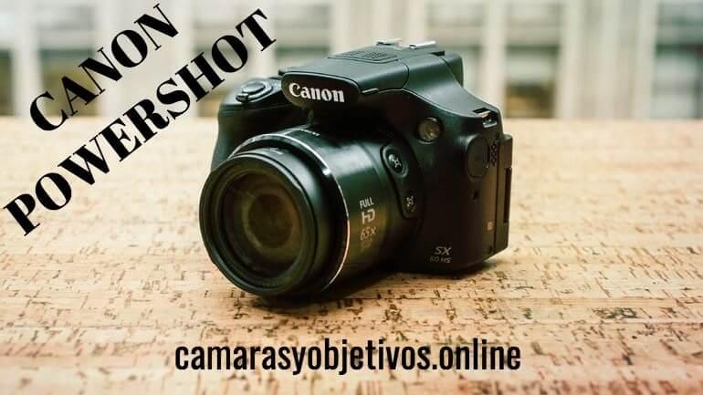 Canon cámara Powershot