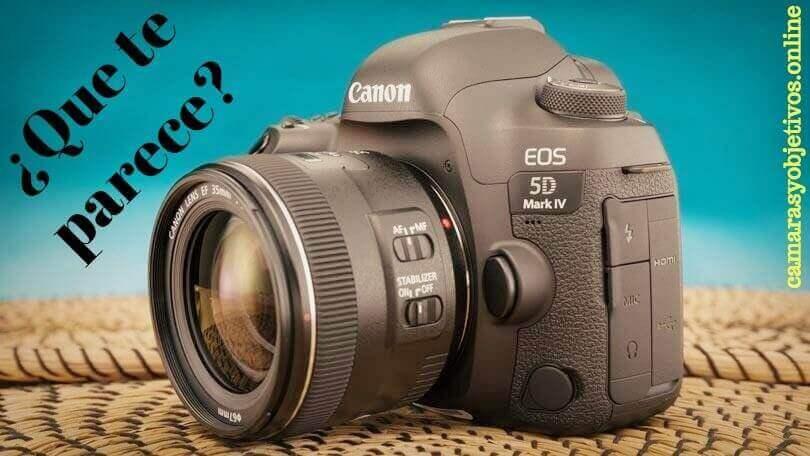 Canon cámara 5d Mark IV