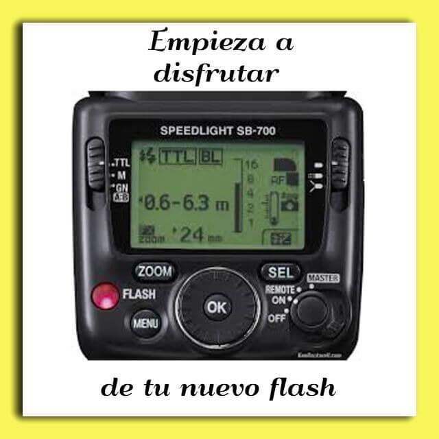Oferta en flash para Nikon