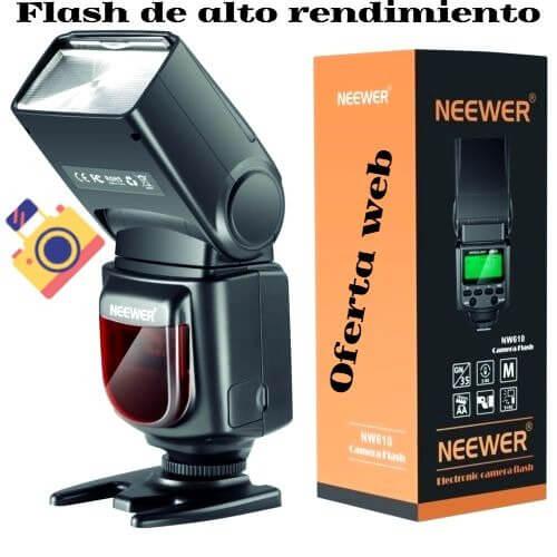 Flash para Nikon d3200
