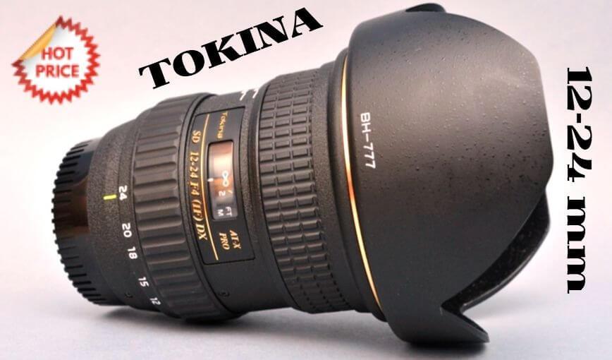 Tokina objetivo 12-24 mm