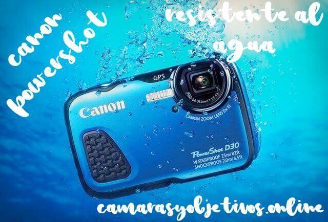 Canon sumergible Powershot