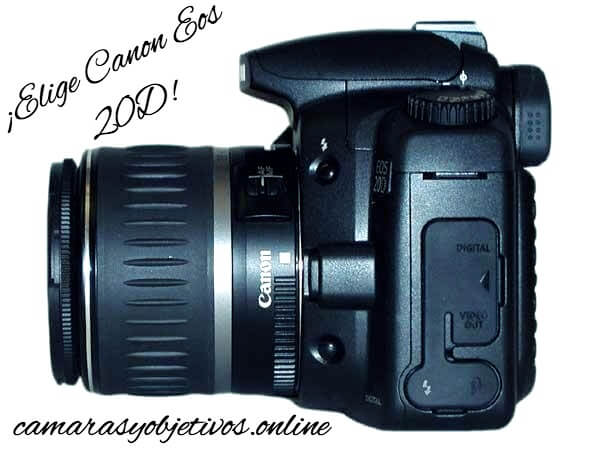 cámara 20d Canon
