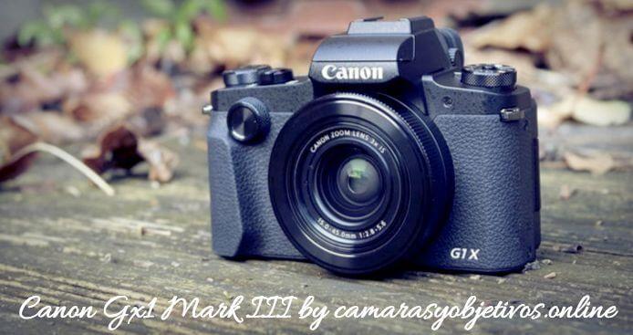 Canon cámara G1x