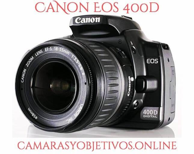 Canon cámaras modelo 400d