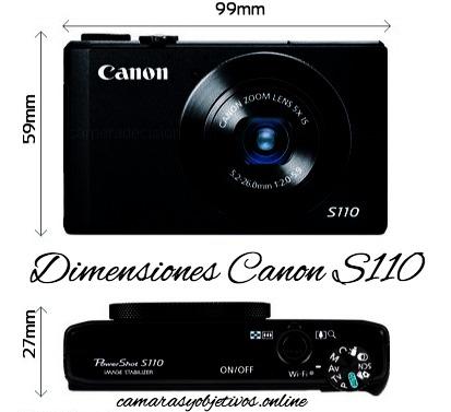 Cámara compacta S110 Canon