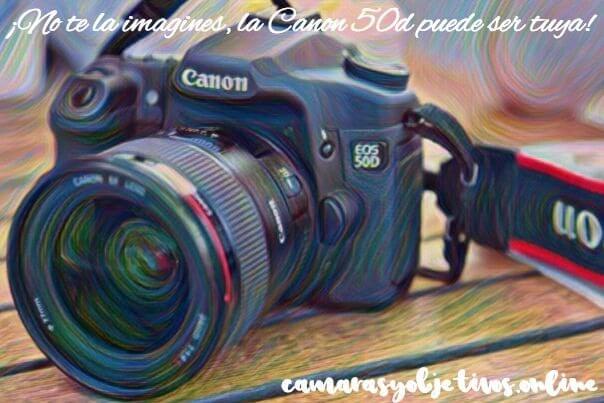 Canon cámara 50d