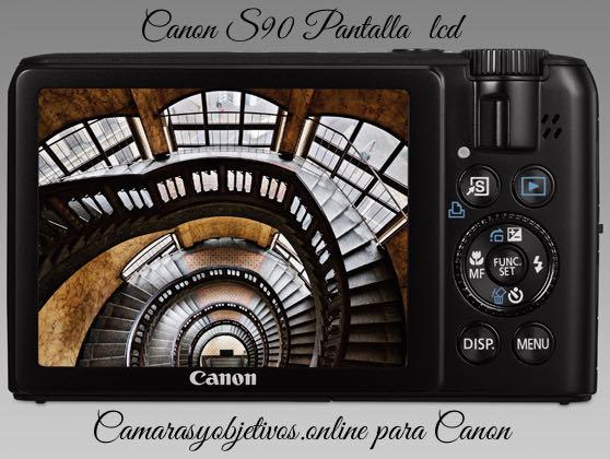 S90 cámara Canon