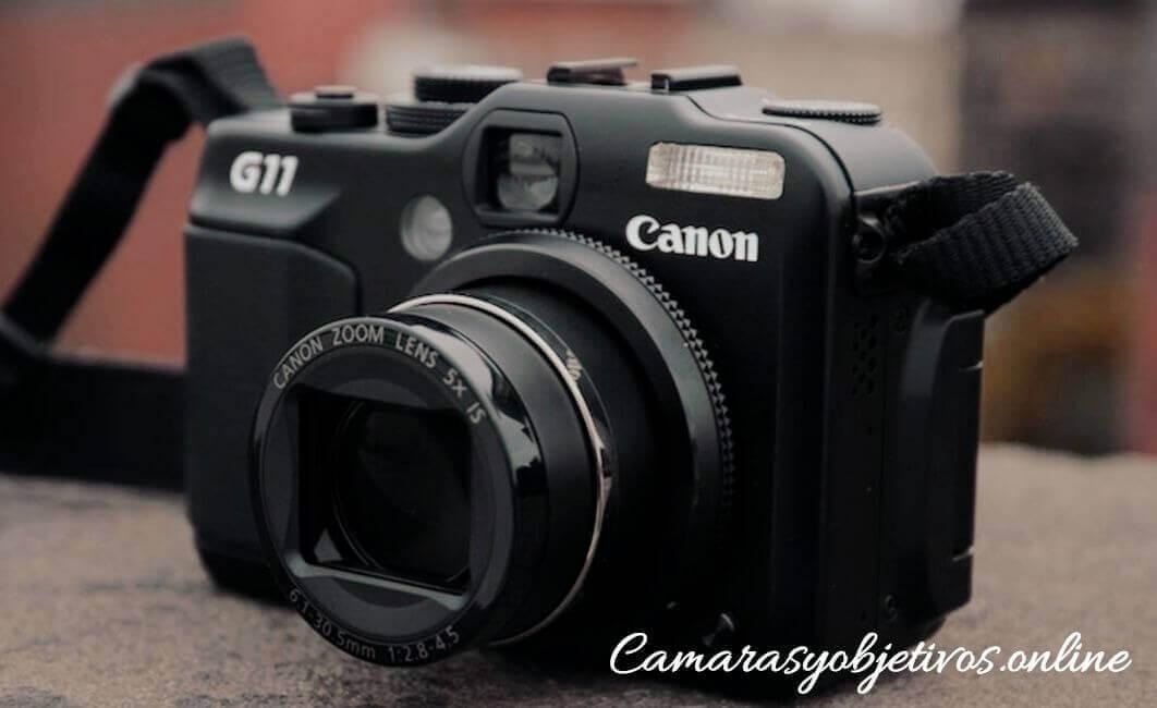 Canon cámara G11