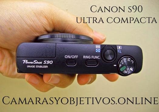 Canon cámara s90