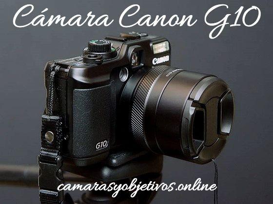 Canon cámara G10