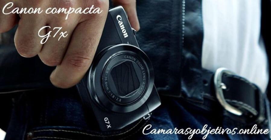 Canon cámara g7x