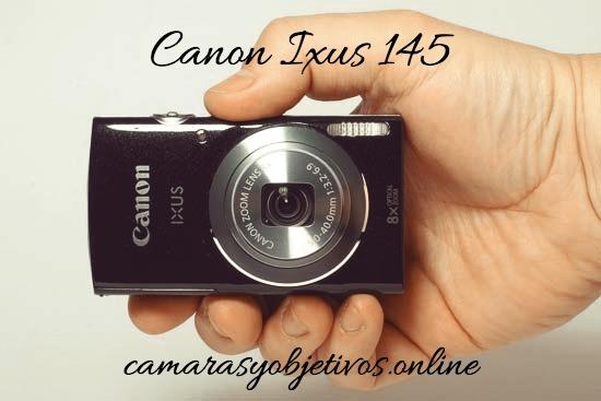 Cámara Ixus de Canon modelo 145