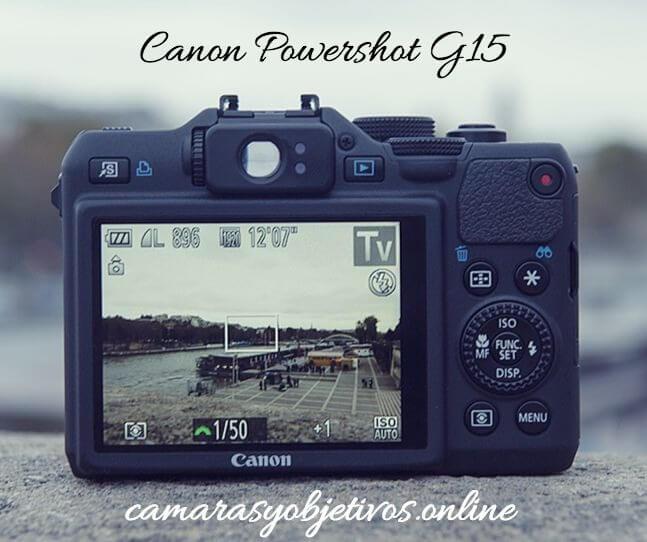 Cámara Canon G15 Powershot