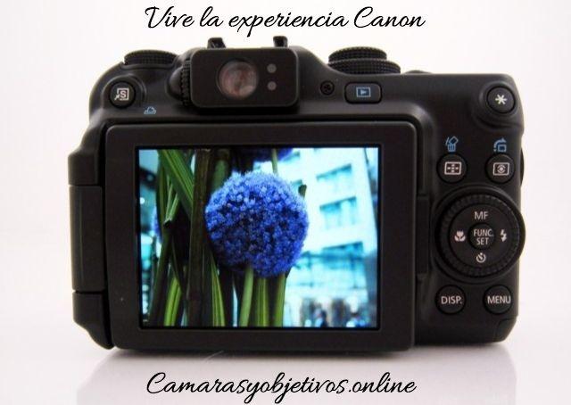 Canon pantalla cámara G11