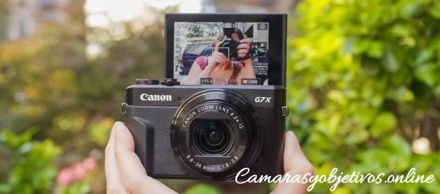 G7X Cámara de Canon