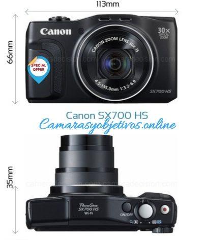 Sx700 hs de Canon
