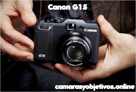 G15 cámara compacta