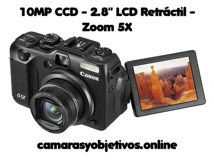 G12 cámara Digital Compacta
